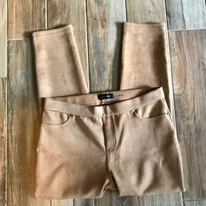 NWT Ivanka Trump camel colored faux suede